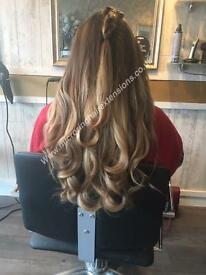 Micro Ring Hair Extensions Romford Essex Brentwood Hornchurch Upminster