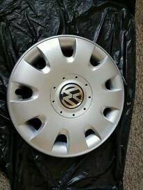 "VW WHEEL TRIM 16"" GENUINE PART"