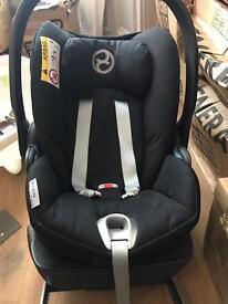 Cybex cloud q group 0 car seat plus Q fix ISO fix base