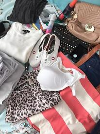 Huge bag of mixed items! Clothes, shoes, books etc