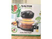 Salter lets go healthy low fat fryer