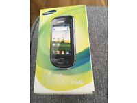 Pay as you go Samsung galaxy mini never been used!
