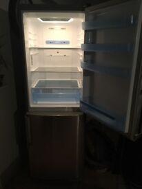 LG fridge freezer-silver