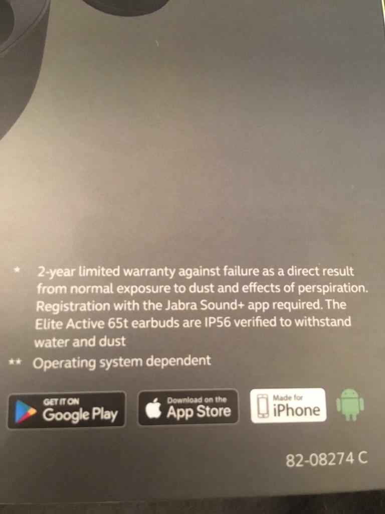 Jabra Elite Active 65t earbuds - BRAND NEW SEALED | in Tower Hamlets,  London | Gumtree