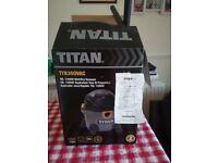 Titan 1300 watt/16 litre wet/dry vacuum cleaner