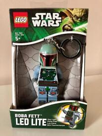 STAR WARS LEGO BOBA FETT LED TORCH