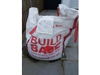 1000kg bag of Buildbase rendering / plastering sand. FREE IF YOU COLLECT!