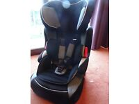 5 Point High Backed Booster Seat from Aged 9 months to 11 Years