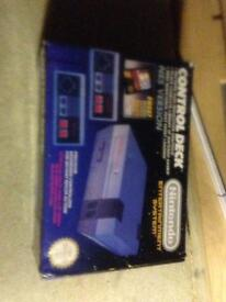 Rare boxed nes console