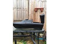 Bait boat hull and motors