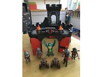 Play Mobil castle and knight set