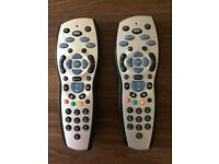 Sky remote controls - 1 left
