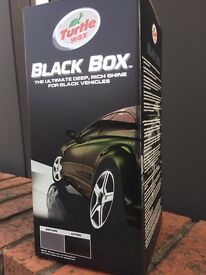 Turtle Wax Black Box Detailing kit Black Vehicles Mirror Finish
