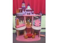 Disney princess house/castle