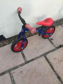 Kids Spider-Man balance bike