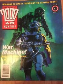 The Best 2000 AD Prog No 95 - Date 08/1993 Comic