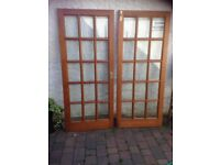 Two french doors