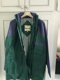 Mens rain coat never worn size small