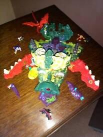 Collectors vintage Mighty Max Dragon Island