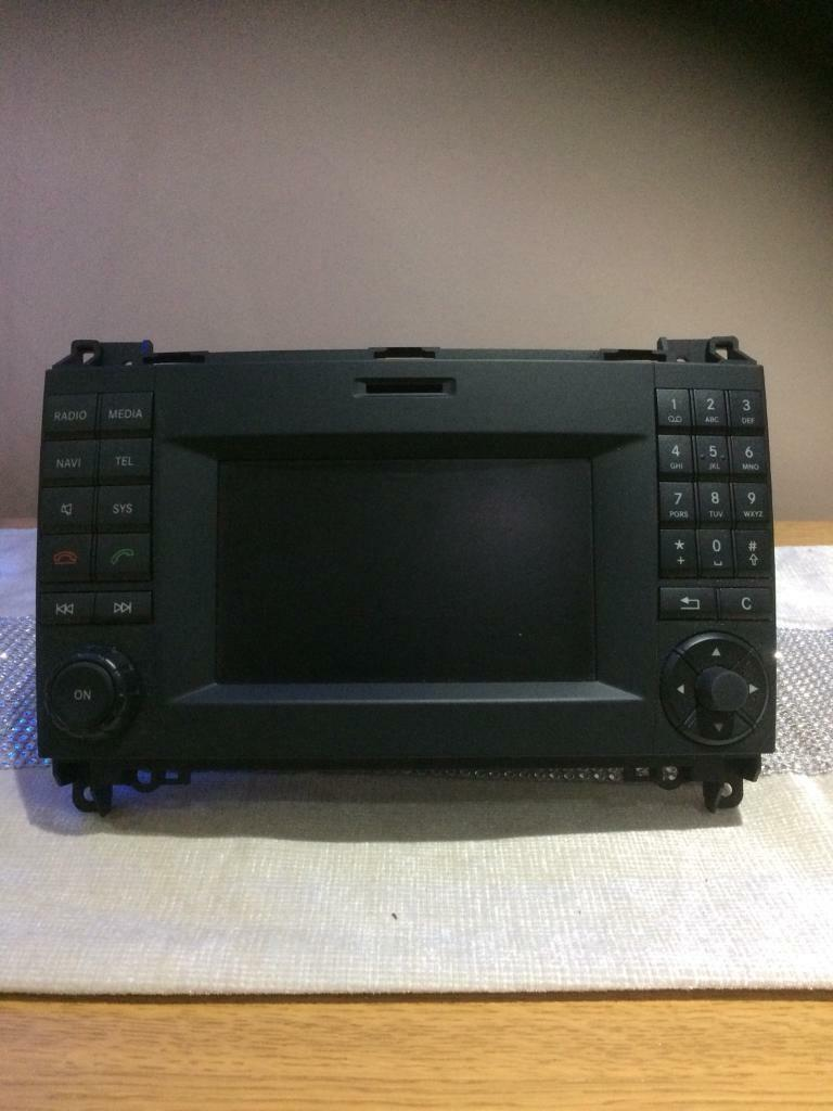 Mercedes sprinter / vw crafter satnav blue tooth radio