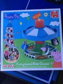 PEPPA PIG FAIRGROUND RIDE GAME £5 ONO