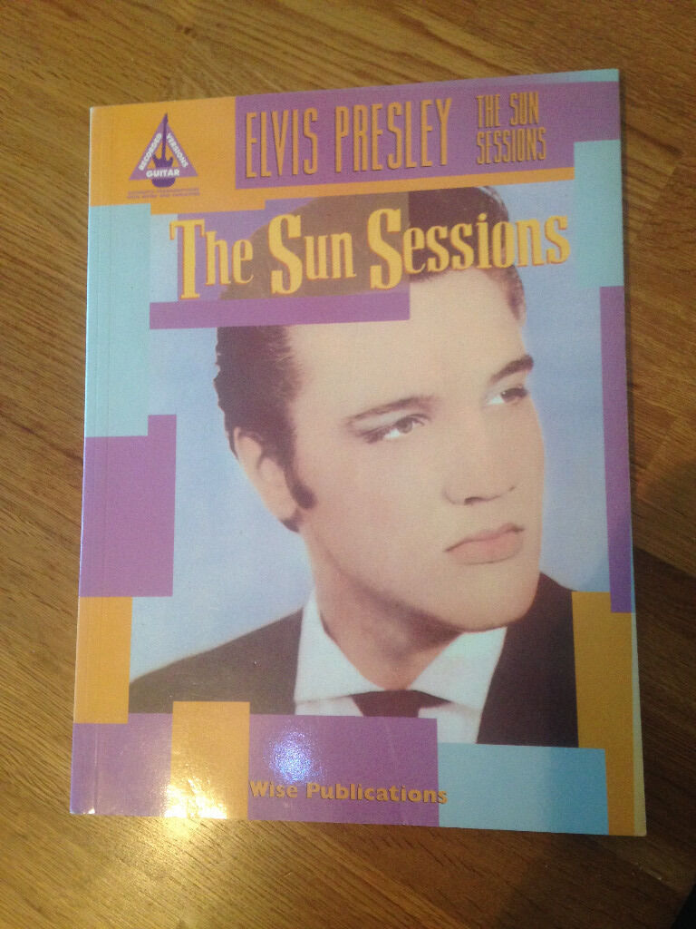Elvis Presley Sun Sessions Guitar Tab Book Very Rare