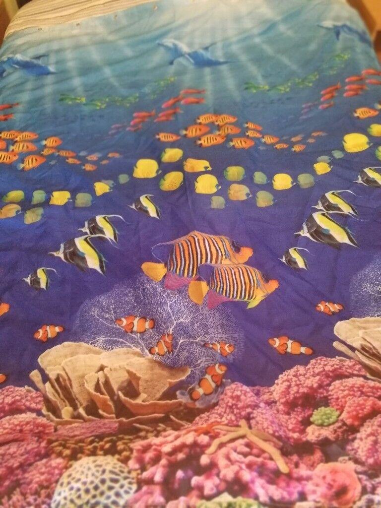 Marine / Seascape Fish Shower Curtain