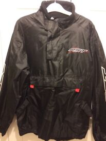 Mens waterproof over jacket