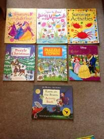 Selection of kids colouring/activity books