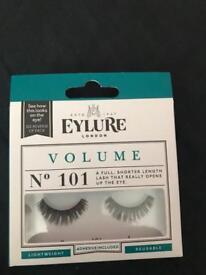 4 new packs of eyelure false lashes