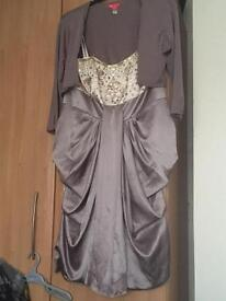 Monsoon dress size 16 dress and cardigan £65