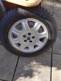 2 rover alloy wheels