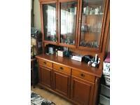 America cherry wood Display cabinet and Corner display unit
