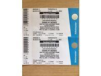 Guns N Roses Tickets! Friday 16th June! Queen Elizabeth Olympic Park!