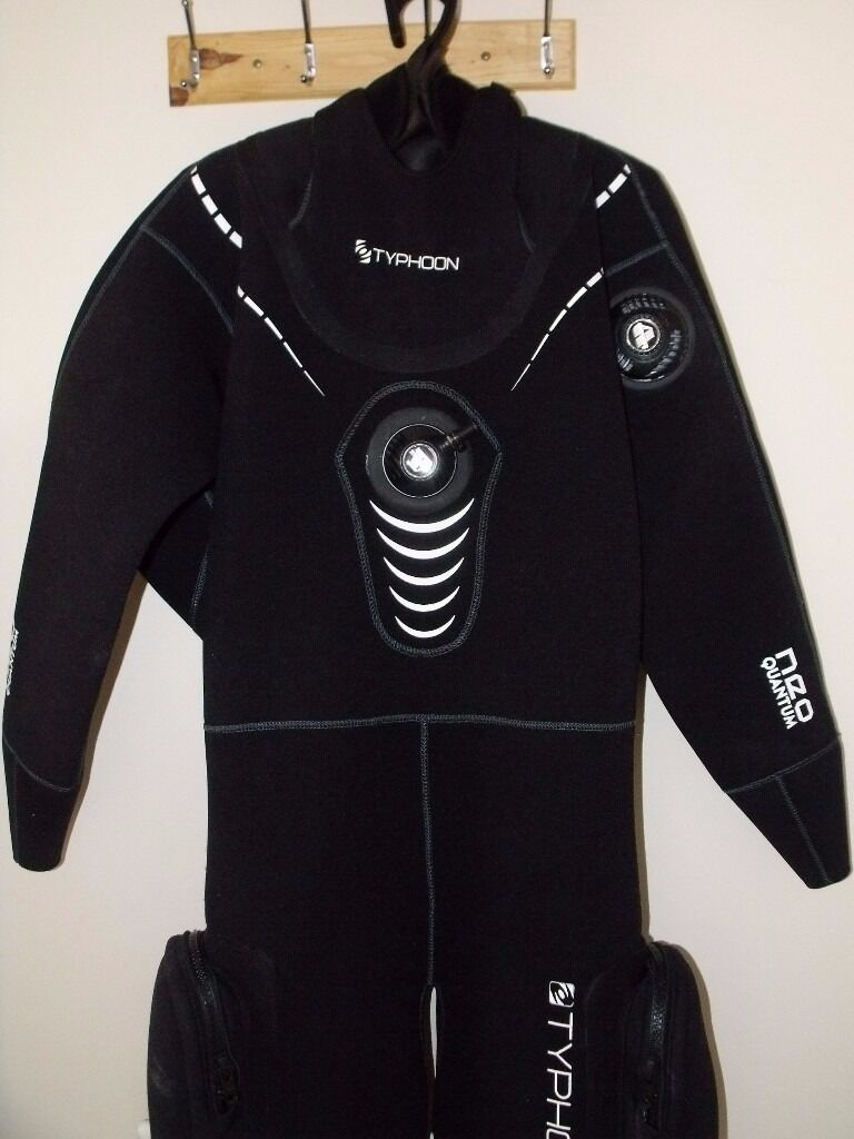 new typhoon neo quantum dry suit for sale | in kettering