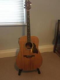 Crafter D6 EQ electro-acoustic guitar