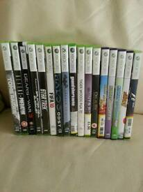 Selection of 360 games