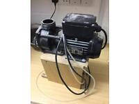 Used jacuzzi bath pump no seal or connectors