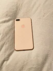 IPHONE 8 PLUS 64GB UNLOCKED,GOLD, EXCELLENT CONDITION FULL WORKING ORDER £240 NO OFFERS CAN DELIVER
