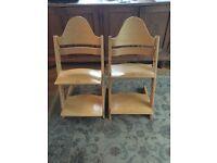Stokke high chair x2