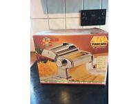 Pasta maker Italian brand with extra attachment