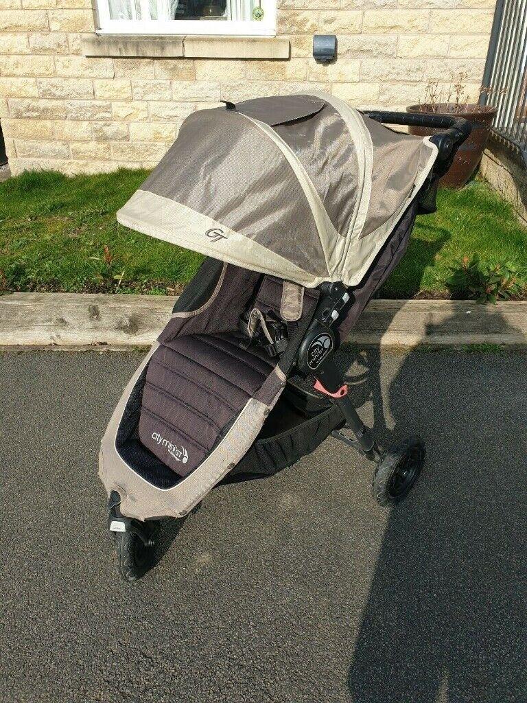 Baby Jogger City Mini Gt Pushchair Pram Sandstone Beige Organiser Cup Holder In Baildon West Yorkshire Gumtree