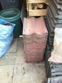 Red Marley grovebury roof tiles