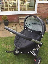 Quinny pram and stroller / storm colour.