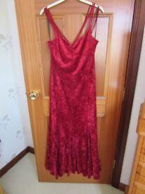 evening dress size 16