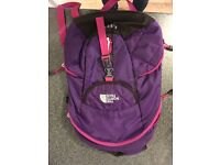 North face rucksack, nearly new