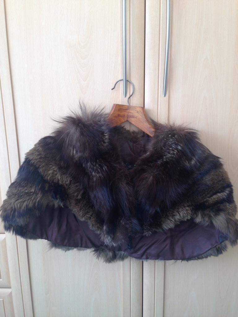 Fur cape (real fur)