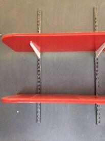 2m 42 cm MDF shelves