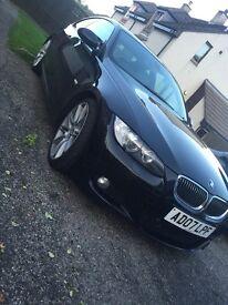 BMW 330d m-sport coupe 2007 auto