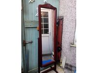 Tall free standing mirror forsale